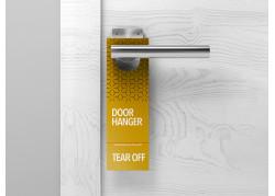 Tear Off Door Hangers